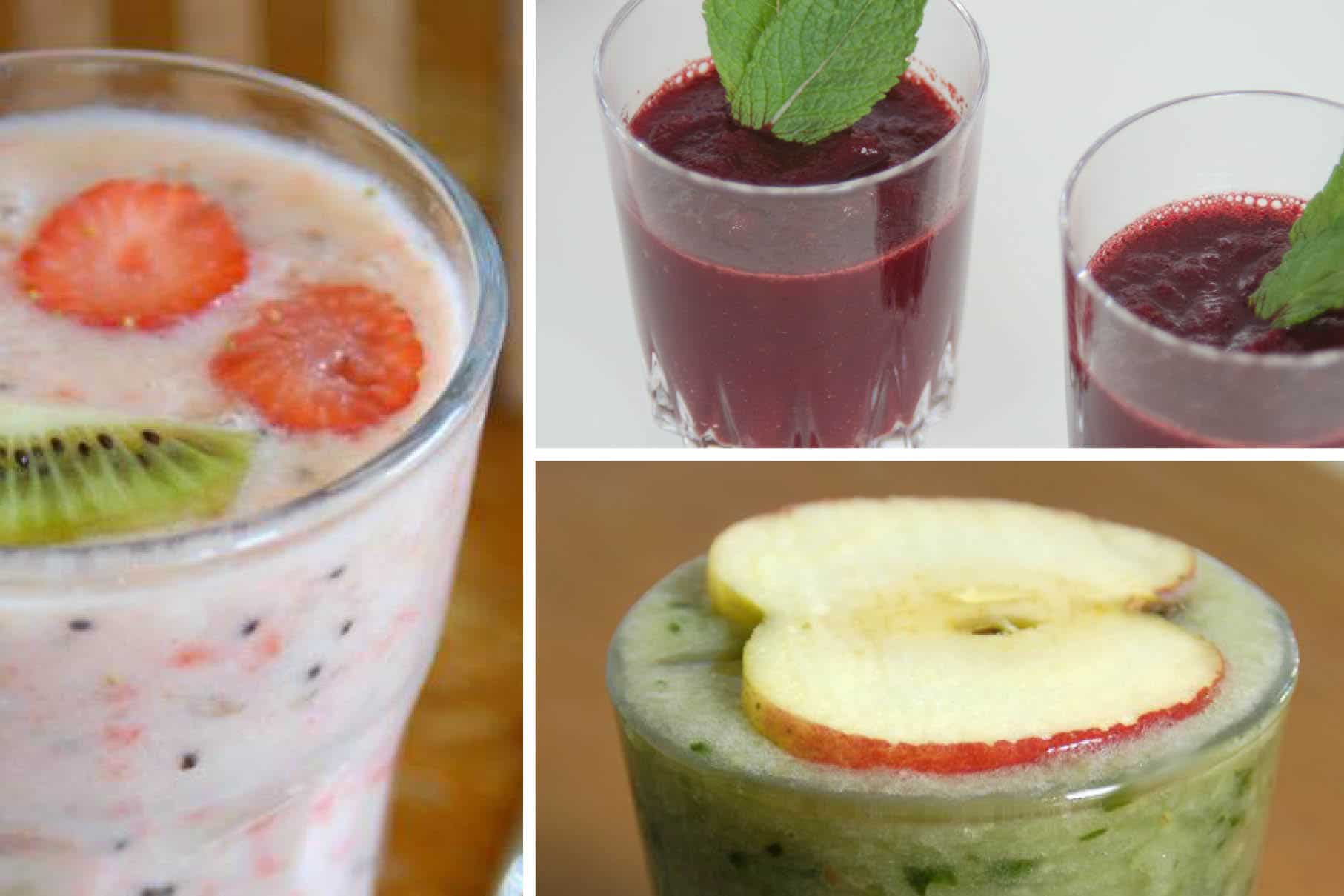 top 3 smoothies - gezonde smoothies - smoothies van peter - healthy smoothies - groene smoothies
